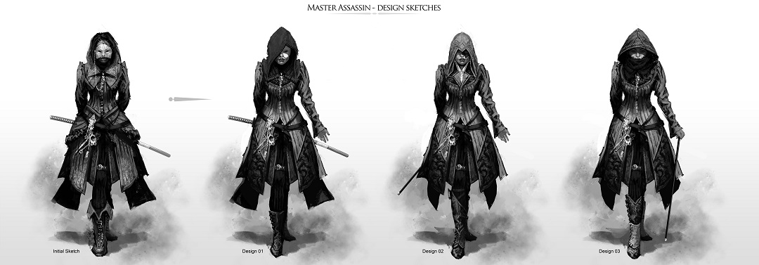assassins creed syndicate outfits evie