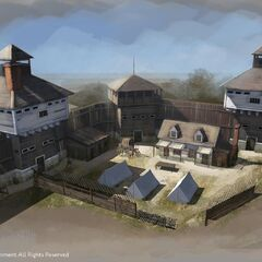 Another military barracks