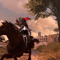 Ezio assassinant le deuxième chef