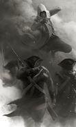 ACIII Connor Noir Blanc Bataille concept 2