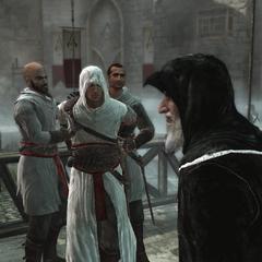 阿尔莫林在圣殿骑士攻击后处置阿泰尔