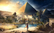 Assassin's Creed Origins Keyart 1