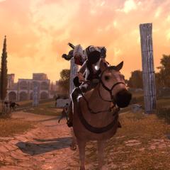 Ezio assassinant le dernier chef