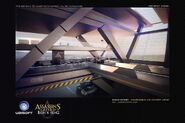 ACIV Abstergo Entertainment Parking concept