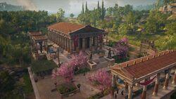 ACOD Isthmia Temple of Poseidon
