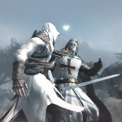 Altaïr assassinant <b>Robert</b>