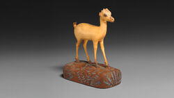DTAE Gazelle figurine