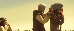 Ezio blocca Shao Jun