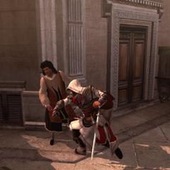 Ezio corrigeant le premier ambassadeur