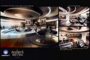 ACIV Abstergo Entertainment Bureau Garneau concept