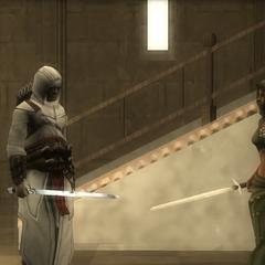 Maria abandoning Altaïr
