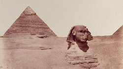 DTAE Sphinx of Giza 1851 - 1852