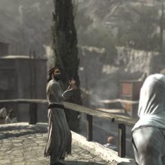 馬蘇恩向村民傳教