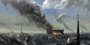 ACU Bastille flammes concept