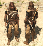 AC4 Vestiti da cacciatore