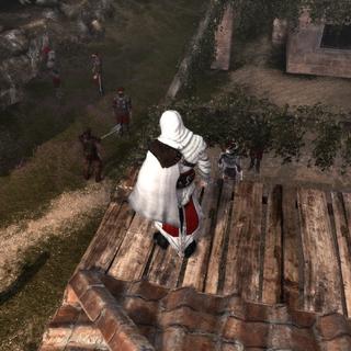 Ezio localisant Il Carnefice