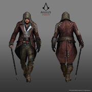 ACS Jacob Frye Alternate Outfit - Concept Art