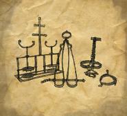ACU Vengeance ancestrale Instruments de torture
