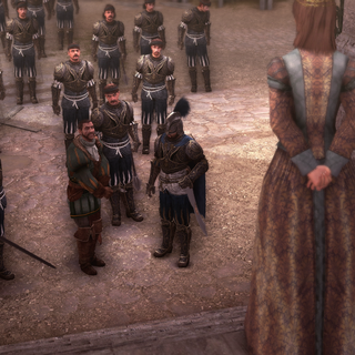 Bartolomeo confronteert Octavian.
