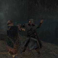 Ezio killing Manuel