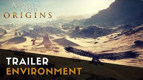 Assassin's Creed Origins - Environment Trailer Gamescom 2017