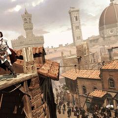 Ezio killing a <a href=