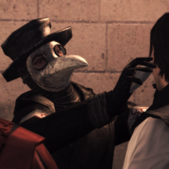 De dokter geneest Ezio.