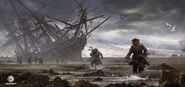 ACIV Naufrage Pirates Poursuite concept