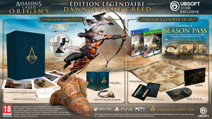 ACO édition légendaire Dawn of the creed