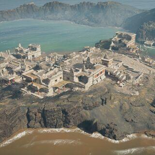 岛上的遗迹