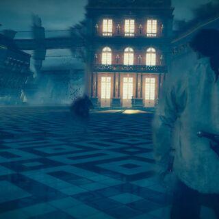 Arno apercevant le meurtrier de François de la Serre