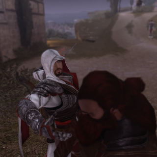 Ezio vermoordt Auguste.
