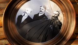 I tre fondatori dell'Alba Dorata