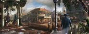 New Orleans Downtown street 1777 di EddieBennun