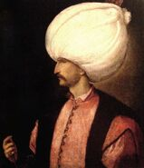 Suleiman the Magnificent of the Ottoman Empire