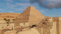 AC Origins Pyramid of Djoser