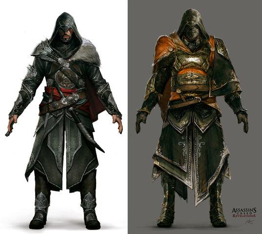 File:Ezio Armor Set by Jeff Simpson.jpg