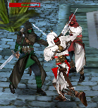 Harash fighting Altair