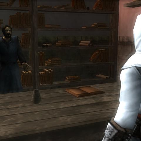 巴纳巴斯要求阿泰尔去刺杀约纳斯