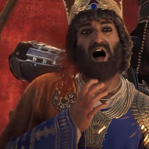 薛西斯一世被大流士刺杀