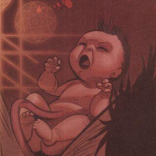 婴儿时期的拉扎
