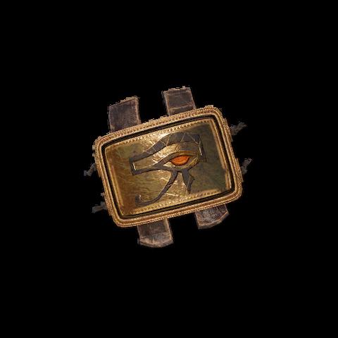 克娄巴特拉送给巴耶克的守护者徽章