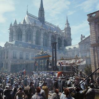 La <b>Sainte-Chapelle</b> et le <a href=