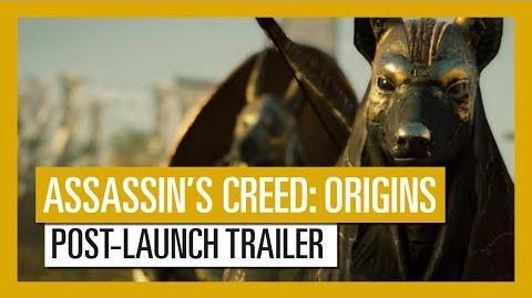 Assassin's Creed Origins Post-Launch & Season Pass Content trailer