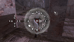 New weapon wheel