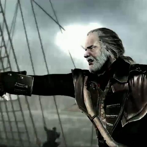 罗伯特下令登上敌船。