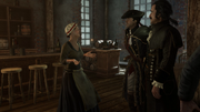 AC3 Johnson's Errand - Catherine welcoming Haytham and Charles