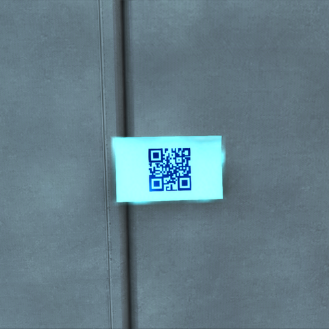 One of the sticky notes spread around the Montreal office