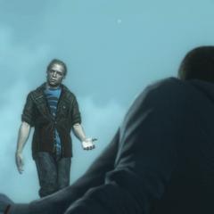 Clay die vraagt aan Desmond over de keuzes van het leven