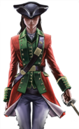 Assassin's Creed III - Multiplayer's character - The Redcoat